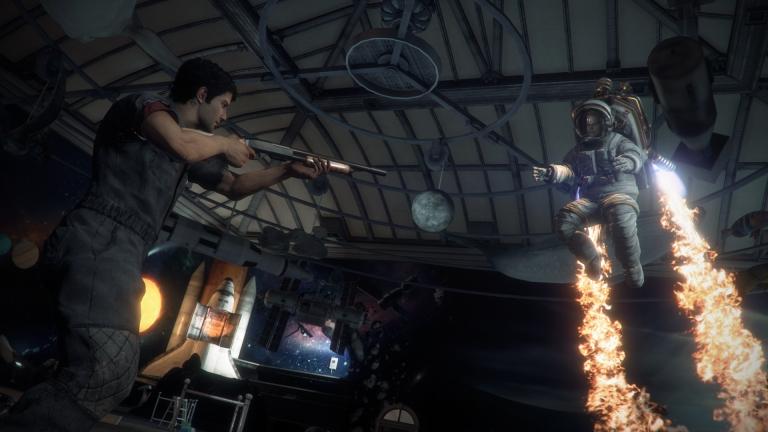 Screenshot from the Diego boss battle