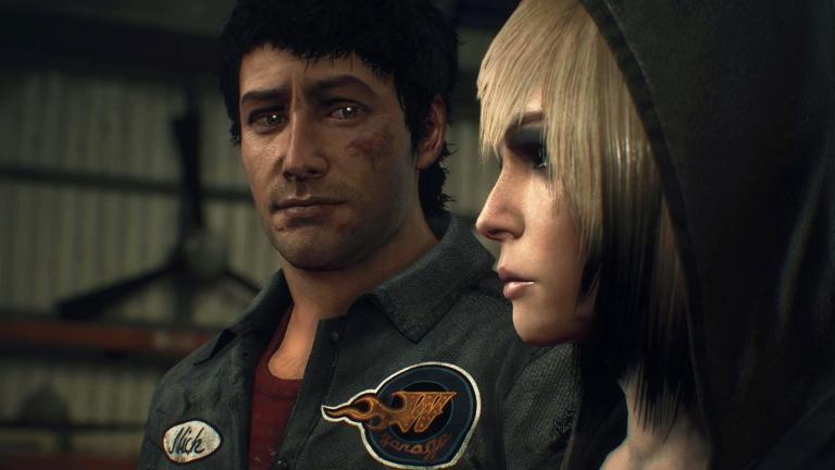 Nick with Mysterious survivor, Annie.