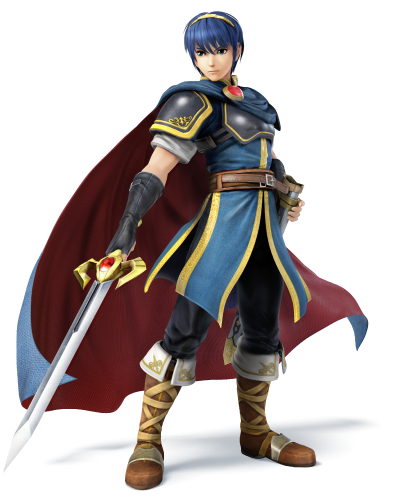 Marth makes a triumphant return