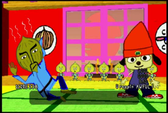 Could we be seeing PaRappa & Chop Chop again soon?