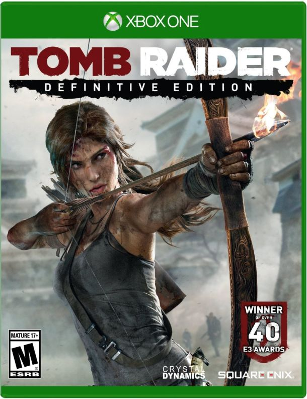 Tomb Raider Definitive Edition Xbox One Boxart