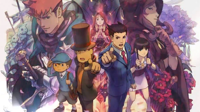 Professor-Layton-vs.-Phoenix-Wright-Ace-Attorney-Art-1