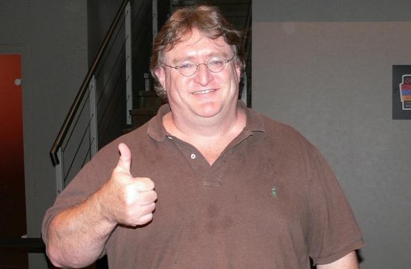 Gabe Newell; Leader of Valve