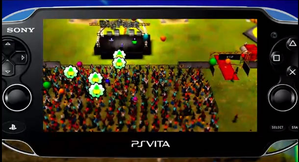 Upcoming Vita title; Big Fest