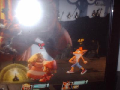 One of the fake images that built up hope for Crash in All-Stars