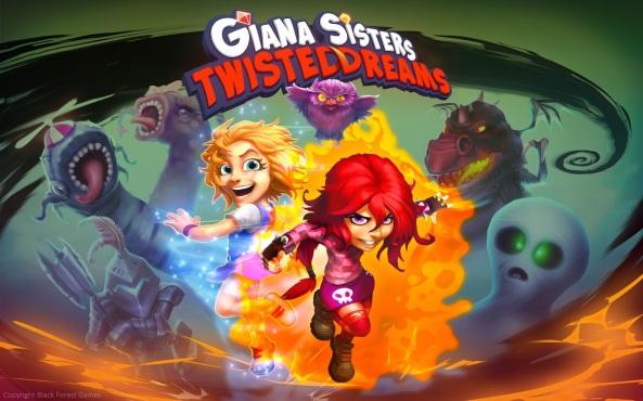Giana Sisters Twisted Dreams - Arte 01