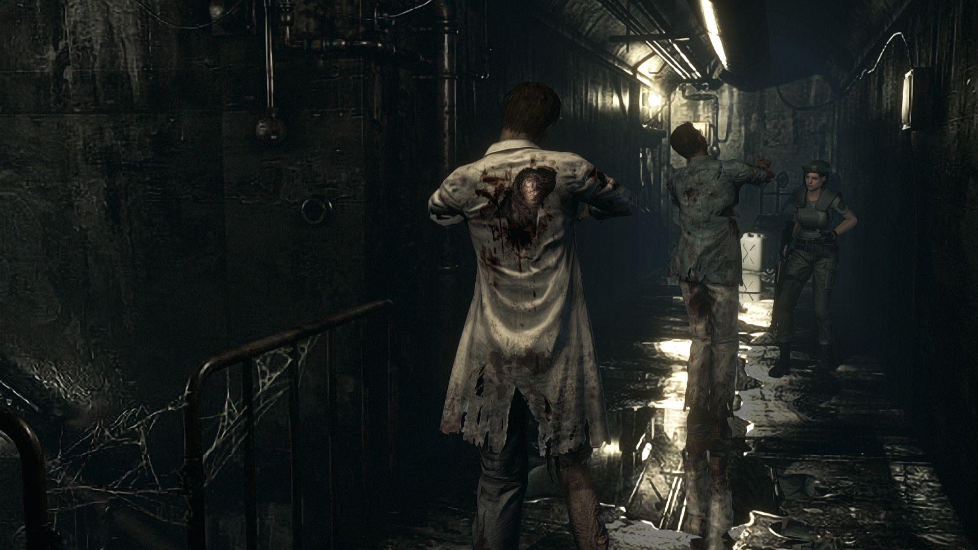 Dicas Resident Evil HD Remaster- mistura de ervas, queimando os zumbis