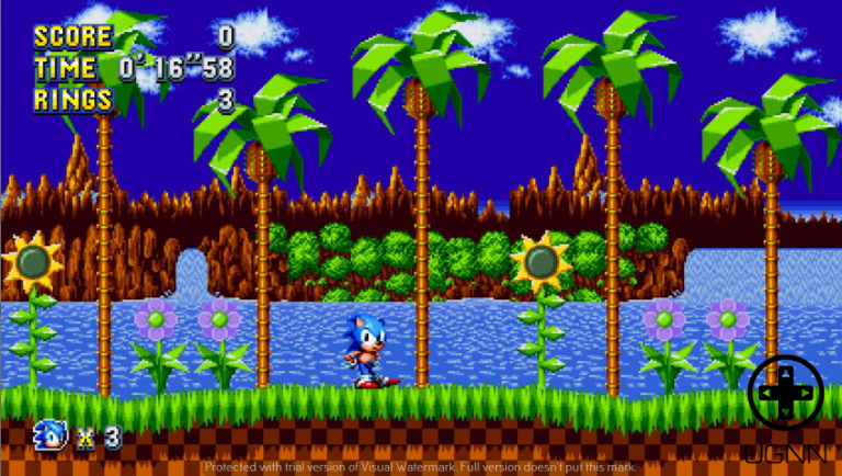 Sonic returns to Green Hill Zone